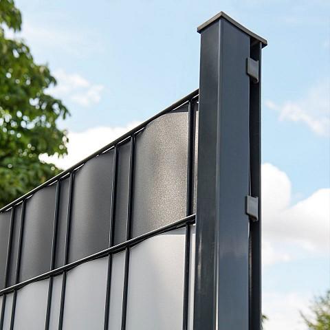 Sichtschutz zum einflechten for Metalldekoration garten